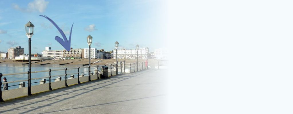 Apartment on the seafront at Worthing